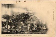 CPA  Le Creusot - Marteau Pilon a vapeur de 100 tonnes  (637528)
