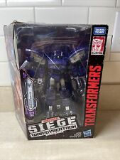 Brand New Transformers Generations War for Cybertron Siege Leader SHOCKWAVE