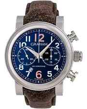 GRAHAM SILVERSTONE VINTAGE 30 AUTOMATIC CHRONOGRAPH 47mm MEN'S WATCH $8,050