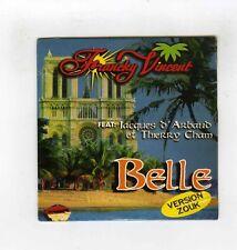 CD SINGLE PROMO(NEUF) FRANCKY VINCENT BELLE (NOTRE DAME DE PARIS)