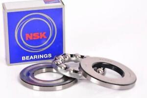 NSK 51105 Thrust Ball Bearings Single Row 25x42x11mm SAME DAY SHIPPING !!!