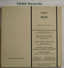 MHS 759 - MUSIC OF THE HUNT - von Flemming / Morin / Telemann - Ex Con LP Record