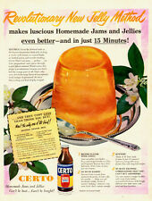 1951 vintage AD, CERTO fruit pectin, Jells all Fruits and Juices!  050814