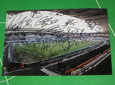 Hull City 2012/13 Promotion Squad Signed x 20 KC Stadium Press Photograph