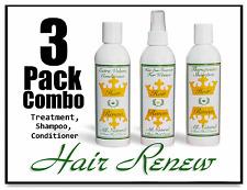 HAIR RENEW 3-COMBO regrowth female loss alopecia treatment shampoo conditioner