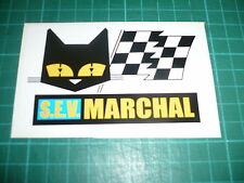 SEV MARCHAL - Pair of Stickers Race, Rally, Le Mans