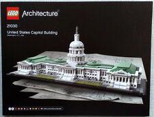 Lego Bauanleitung für United States Capitol Building 21030 Neu
