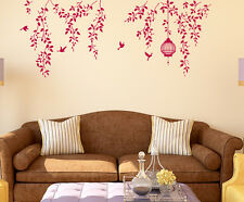5700063 | Wall Stickers Border Design Hanging Vines with Cage & Birds