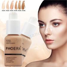 Coverage Concealer Cosmetic Longlasting Moisturizing PHOERA Liquid Foundation