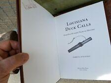Louisiana Duck Call book