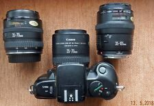 CANON EF 35-105mm f3.5-4.5 ZOOM LENS + CANON EF 35-70mm + CANON EF 35-70mm