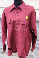 Vintage Botany Brand Wool Shirt Haverford School w/ H Patch - Pennsylvania PA