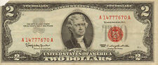 1963 $2 United States Note, Red Seal, Circulated High Grade (W-98)