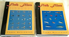 Fish Flies Volume One + Volume Two by Terry Hellekson/Jim Schollmeyer 1st Print