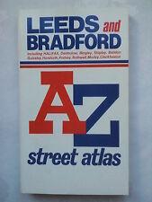 LEEDS AND BRADFORD,HALIFAX SHIPLEY ROTHWELL ATOZ STREET ATLAS,1993,NEW UNREAD