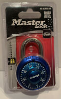 Master Lock Combination Padlock Blue Brand New