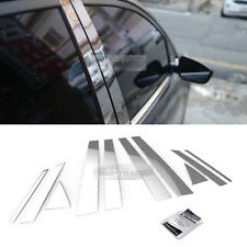 Stainless Steel Chrome Window Pillar Molding 10P For HYUNDAI 2013-2018 Santa Fe