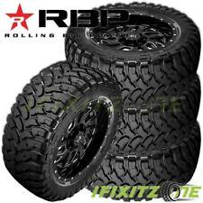4 New Rbp Repulsor Mt 33x1250r15lt 6 Ply 108q Off Road Jeeptruck Mud Tires