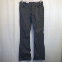 "GAP 1969 Perfect Bootcut Jeans Women's Size 28/6r Black 32 1/2"" Inseam"