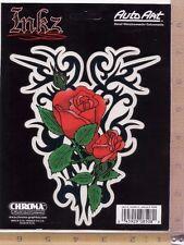New Rose Tattoo Inkz Auto Art Vinyl Decal Car Truck Window Bumper Sticker 8508