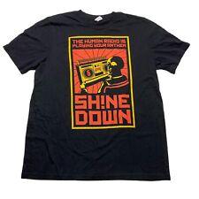 Shinedown Himan Radio Attention Attention World Tour T Shirt Band Size XL