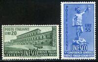 Repubblica Italiana 1950 UNESCO S140 n. 618/619 ** (l251)