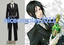 20%OFF Black Butler Sebastian Michaelis Ciel Cosplay Costume Swallow-tailed Coat