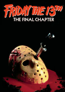 FRIDAY THE 13TH 13 Classic Horror Movie Print Poster Wall Art Picture A4