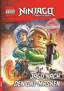 LEGO® NINJAGO® - Jagd nach den Oni-Masken   Buch   Zustand gut