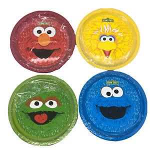 Sesame Street Mold & Shape Dough Lot Of 4 Buckets New Sealed