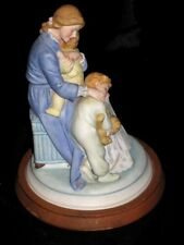 """1985 American Greetings by Kathy Lawrence IN A MOTHER'S ARMS 9"""" Ceramic Figurine"""