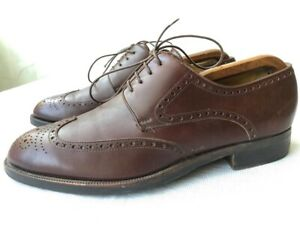 'Moreschi' brown leather oxford shoes US 8.5