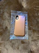 Speck Presidio Metallic - iPhone XS / X - Bronze Copper Metallic/Slate Grey