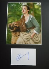"""LAURA DONNELLY   AUTOGRAPH SIGNED  CARD (10"""" X 8"""" PHOTO) (OUTLANDER) COA 55"""
