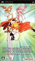 USED PSP Tales of Phantasia Full Voice Edition Game soft