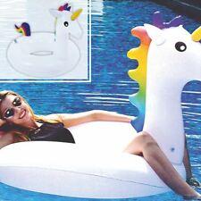 Salvagente Gonfiabile Giochi Piscina Mare Unicorno adulto 148 x 100 x 98 cm