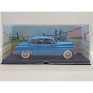 TINTIN DODGE CORONET 1949 DE OBJECTIF LUNE 1/43 BOITE PLASTIQUE D'ORIGINE