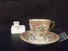TAZZA da collezione+piatto Porcellana PARIS ROYAL Limoges-Porcelain Cup+saucer