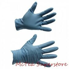 """Showa Best 8500PF Large 9.5"""" 8 Mil Blue Nitrile Powder Free Disposable Gloves"""