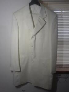 Berkeley Square by Falcone, 2 Pc, 4 Button Cream Suit