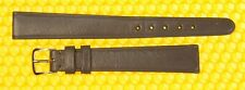 13mm Vintage OMEGA Leather Watch Strap Band GRAY Swiss Made <NWoT>