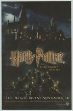 Harry Potter and the Sorcerer's Stone - Vintage Print Ad Advertisement 2001