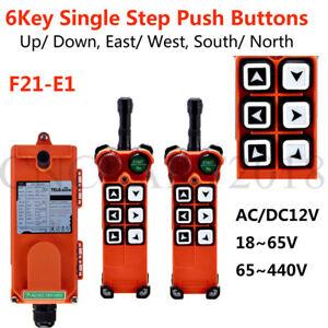 Industrial Wireless Radio Remote Control for Overhead Crane F21-E1 two way