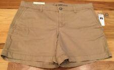Gap Women's Size 0 Tan Brown Khakis By Gap - Girlfriend 5 Inch Shorts. Nwt