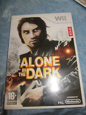 NINTENDO Wii ALONE IN THE DARK Boxed ita