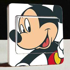 Interruttore Luce UK Mickey Mouse Adesivo Vinile Decalcomania
