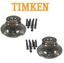 Pair Set of Front Wheel Bearings Hubs Assies Timken HA590020 for Ram 2500 4WD