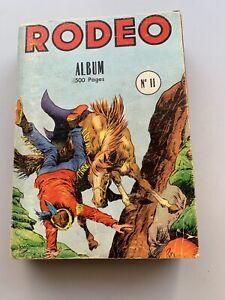 RODEO ALBUM RELIURE 11 du 99 au 102
