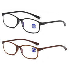 Unisex Mens Ladies Frame Magnifying Reading Glasses Nerd Spectacle +1.0 to +4.0