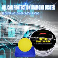 Car Wax Crystal Plating Set Hard Glossy Carnauba Wax Care Paint Coating 200G US